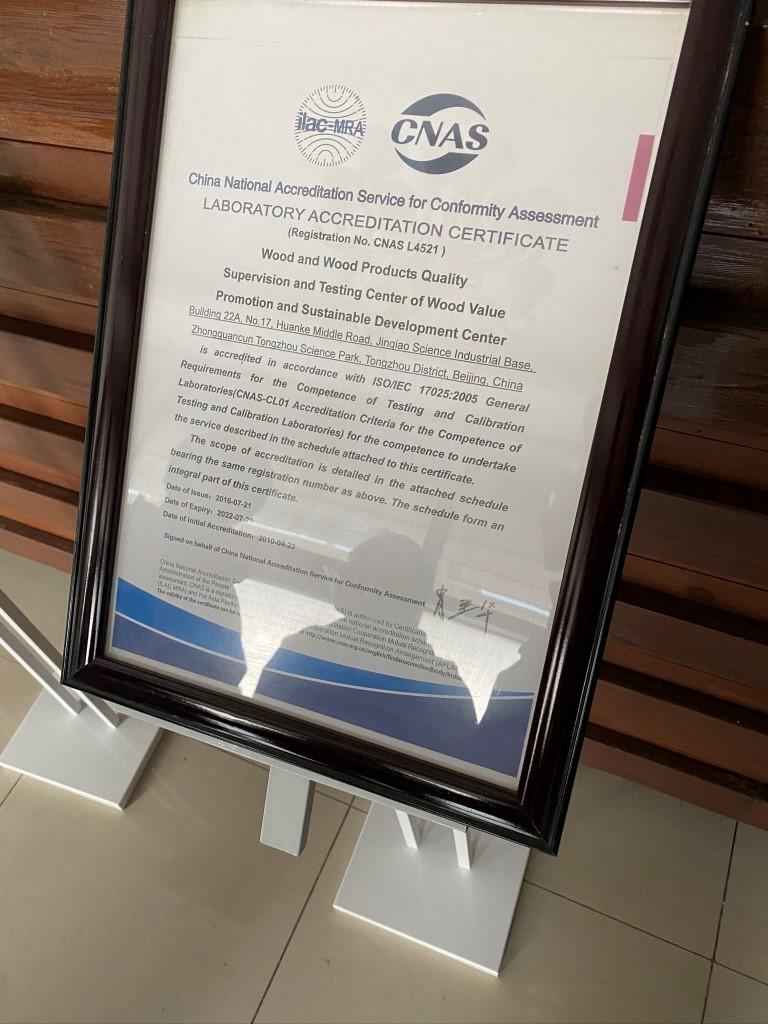 CMMA lab certification