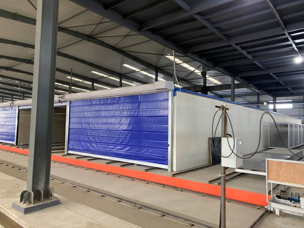 New curing chambers