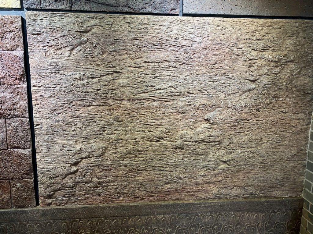 Decorative cast panels