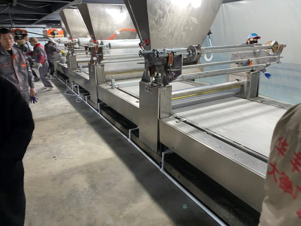 New SS automated line